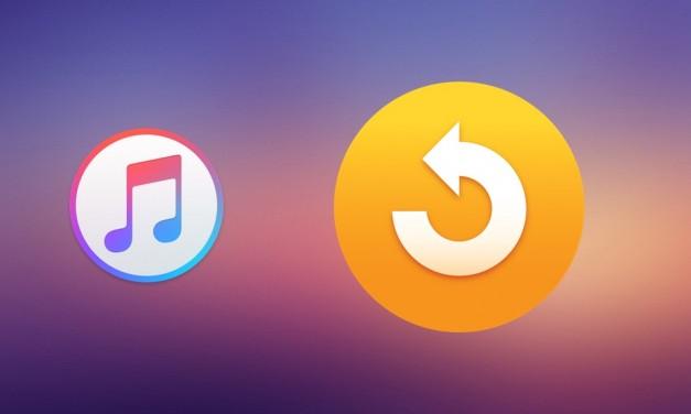 آموزش ریستور کردن آیفون، آیپد و اپل تیوی در آیتونز