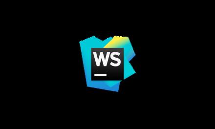 WebStorm 2016.1.3