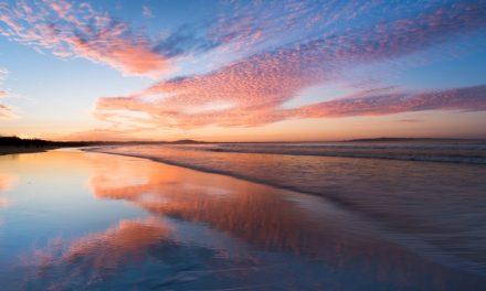 غروب آفتاب در کوئینزلند