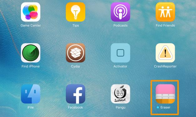 بروزرسانی جدید Cydia Eraser برای iOS 9.3.3 منتشر شد