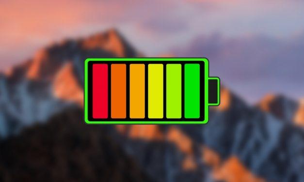 چگونه نشانگر زمان باقیمانده باتری را به سیرا بازگردانیم