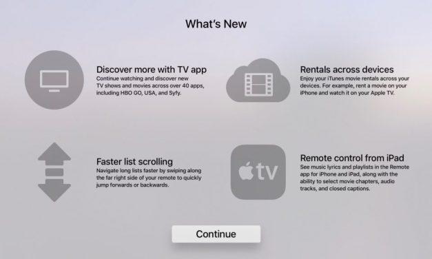 اپلیکیشن ریموت کنترل اپل تیوی در آیپد