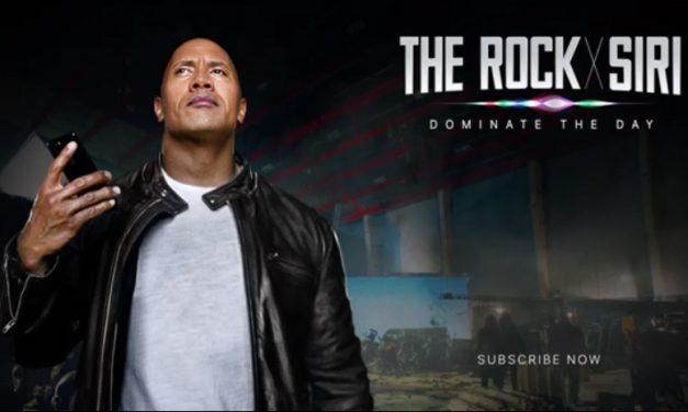 """دایان جانسون """"The Rock"""" با همکاری سیری فیلم می سازد"""