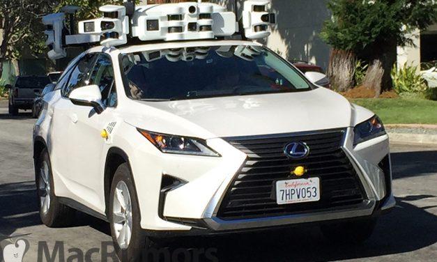 خودروهای پیشران مجهز به سیستم LIDAR اپل