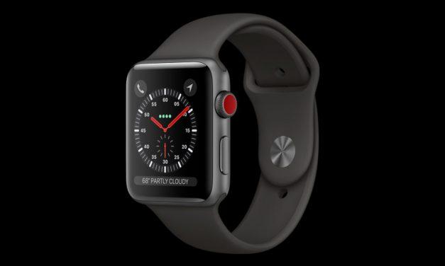 با انتشار نسخه گلد مستر iOS 11 اطلاعاتی از Apple Watch 3 لو رفته است