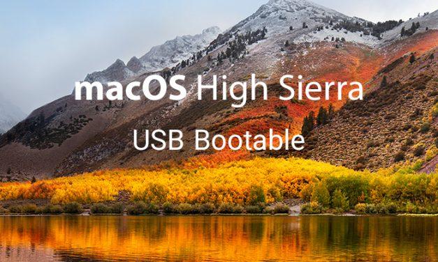 آموزش ساخت بوتیبل از سیستم عامل macOS High Sierra