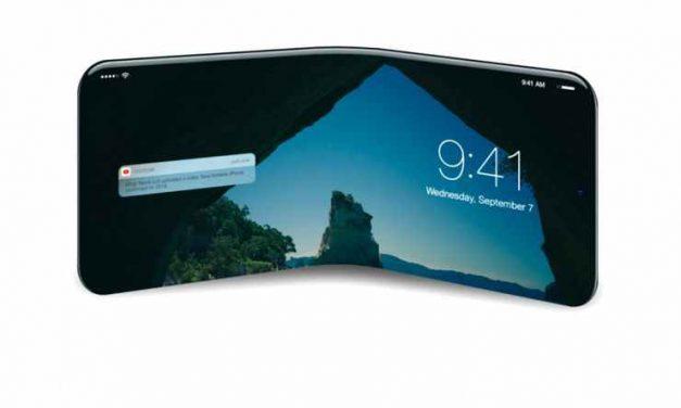 پتنت جدید اپل خبر از احتمال تولید یک آیفون تاشو می دهد !