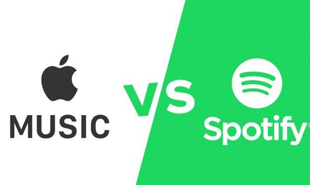مقایسه ای بین اپل موزیک و اسپاتیفای