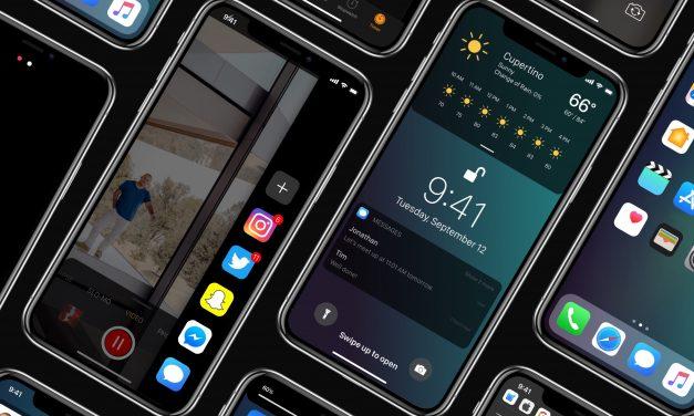کانسپت iOS 12 ، حالت مهمان ، ساندبار ، آنلاک سریع و …