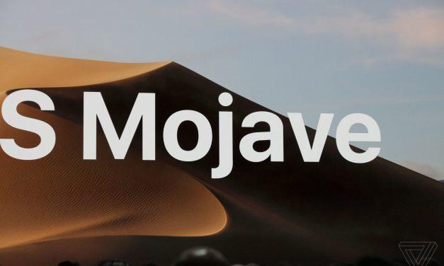 macOS Mojave معرفی شد