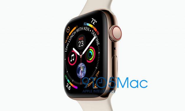 عکس  لو رفته از  اپل واچ سری 4