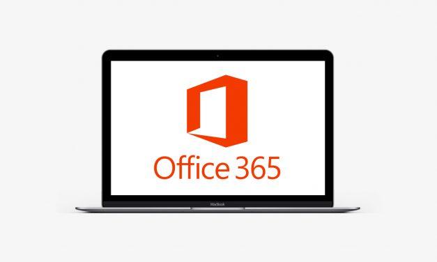 مایکروسافت آفیس 365 در اپ استور مک اپل