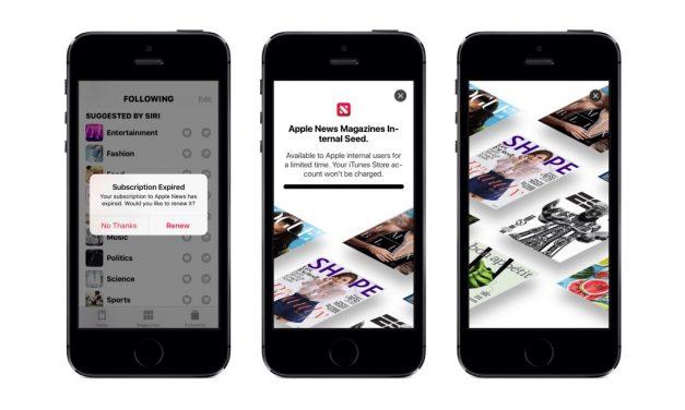 سرویس جدید  Apple News Magazines در بتای اول iOS 12.2