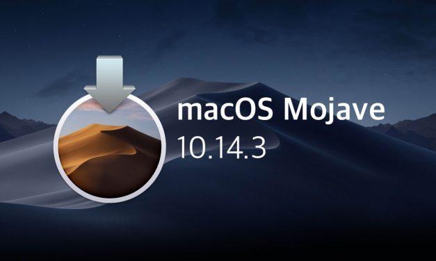 نسخه جدید macOS Mojave 10.14.3 منتشر شد