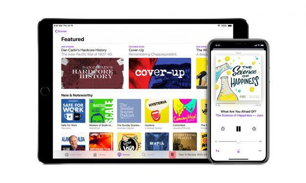 افزوده شدن گزینه Mark as Played با  iOS 12.2 به اپل پادکست