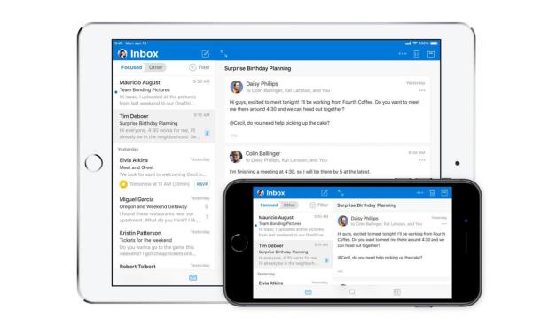 مایکروسافت نسخه بازطراحی شده اپ Outlook را در دسترس کاربران iOS قرار داد