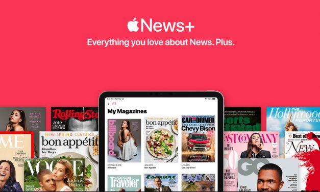 سرویس Apple News+ معرفی شد