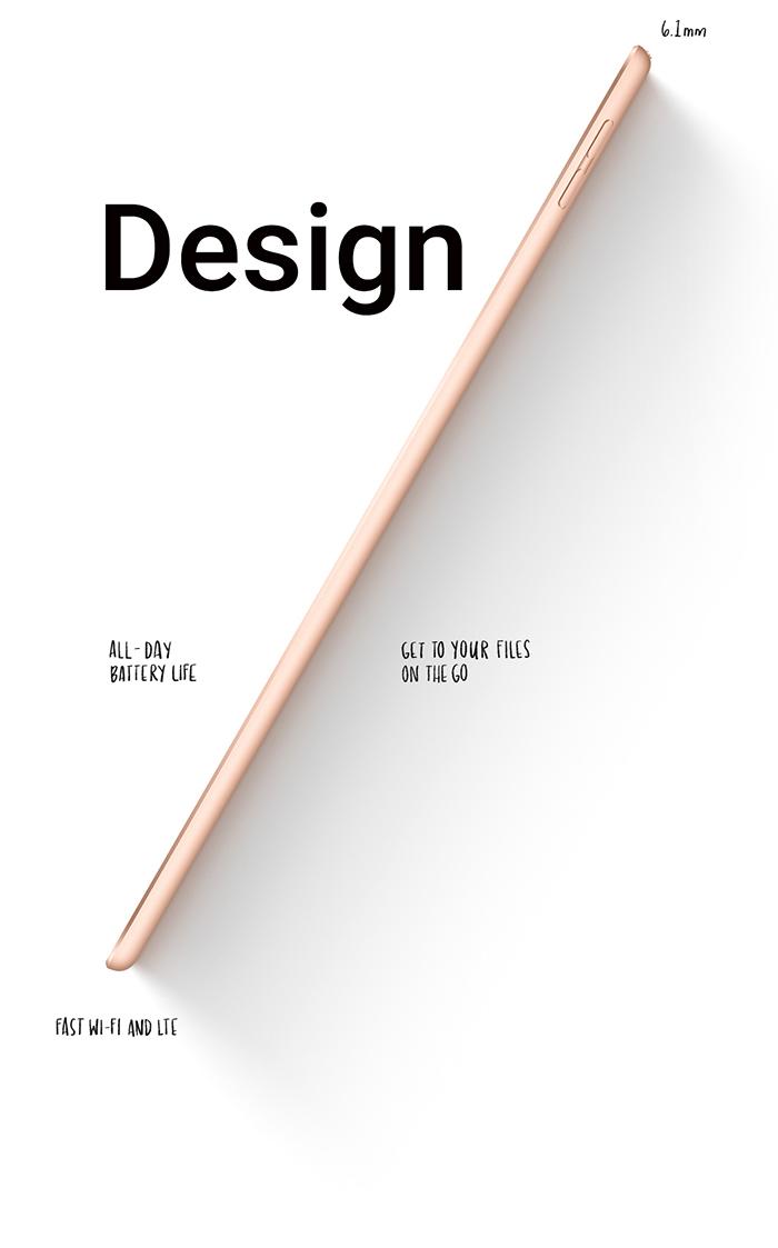آیپد ایر 3 - طراحی