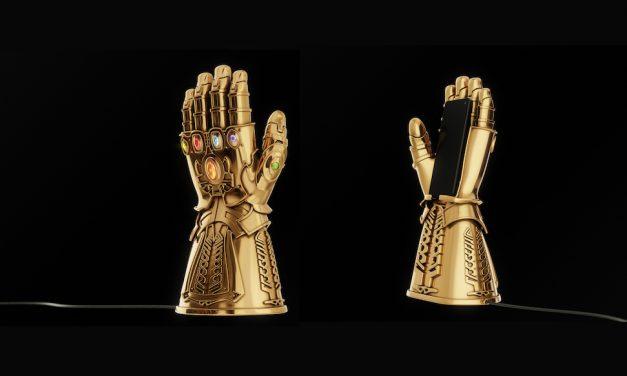 Infinity Gauntlet داک شارژ لوکس 7700 دلاری آیفون