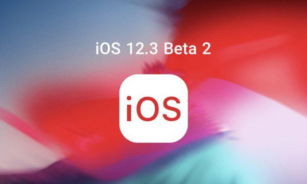 انتشار بتا دوم iOS 12.3