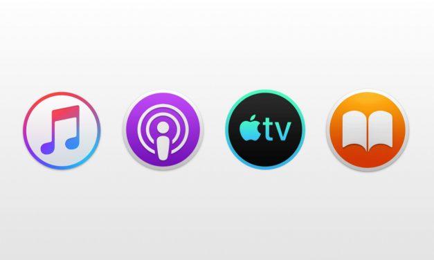 اپ های مستقل Books ، Music ، Podcasts و TV در macOS 10.15