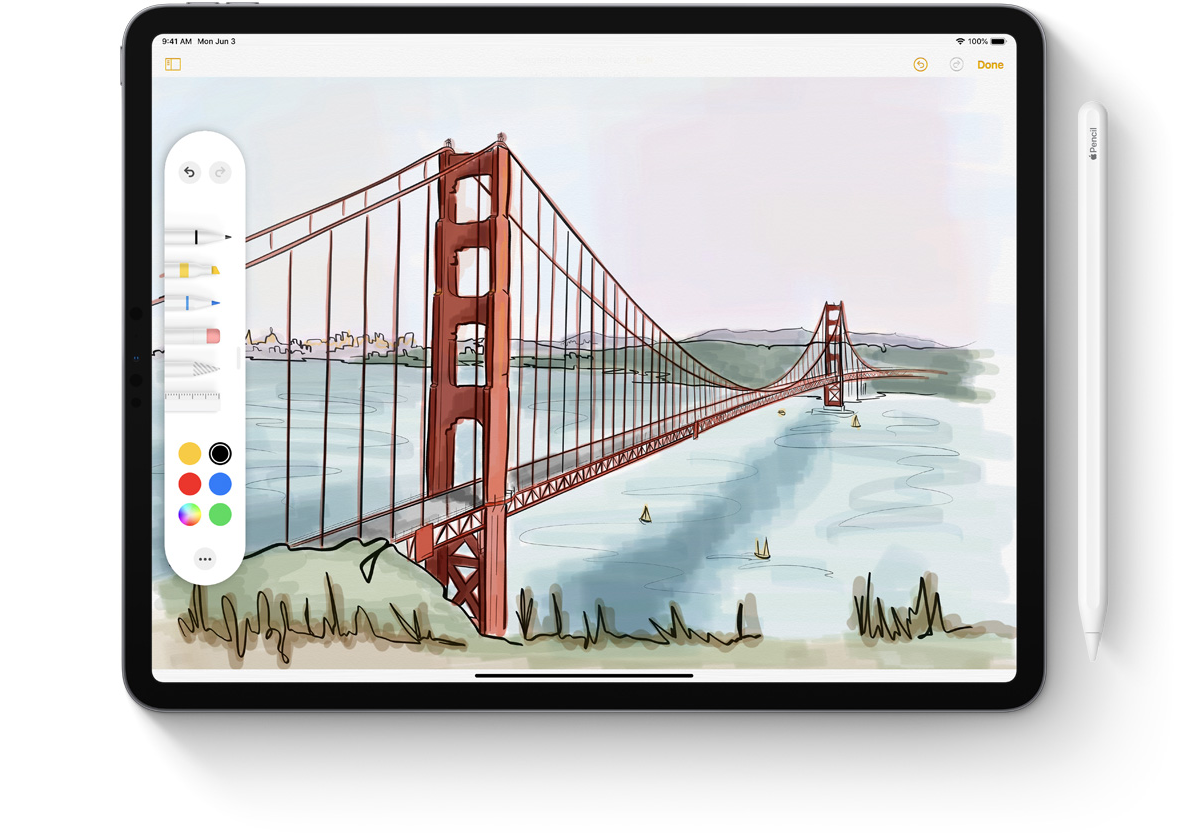 iPadOS_Apple Pencil
