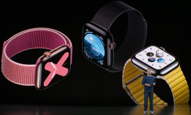 اپل واچ سری ۵ معرفی شد