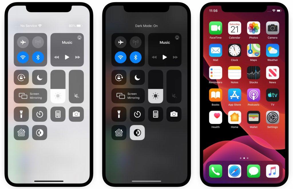 iOS 13-Dark Mode_3
