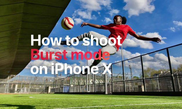 4 ویدیوی آموزش گرفتن عکس های زیبای فوتبالی با آیفون ایکس
